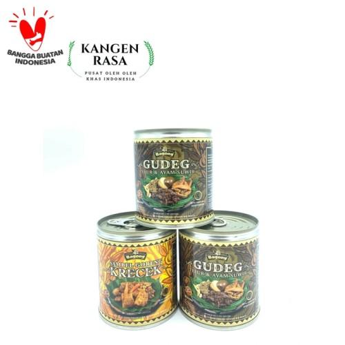 Foto Produk Gudeg Yu Djum Bagong Kaleng - GUDEG ORIGINAL dari Kangen Rasa Oleh Oleh