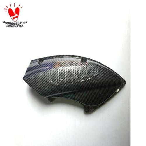 Foto Produk Tutup Cover Hawa Nmax Carbon Nemo dari saungmotor