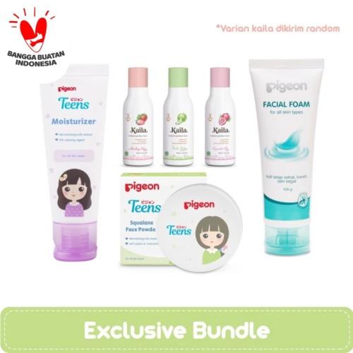 Foto Produk PIGEON Moisturizer + Facial Foam + Face Powder + Kaila dari Pigeon Teens Indonesia