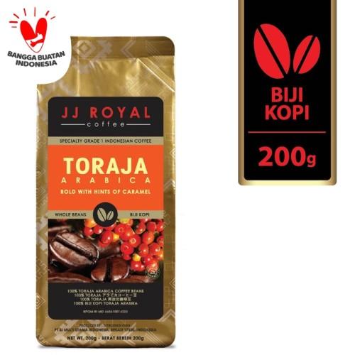 Foto Produk Coffee/Kopi JJ Royal Toraja Arabica Bean Bag 200g dari JJ Royal Coffee