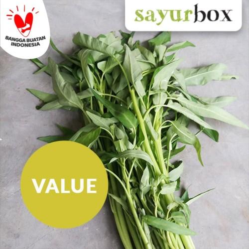Foto Produk Kangkung Conventional 250 gram Sayurbox dari Sayurbox