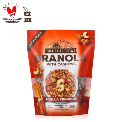Foto Produk East Bali Cashews Granola Rosella Cinnamon 400gr dari East Bali Cashews