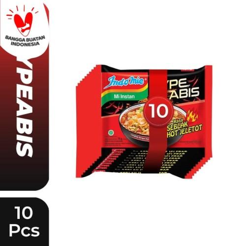 Foto Produk 10 Pcs - Indomie HypeAbis Rasa Seblak Hot Jeletot dari Indomie Official Store