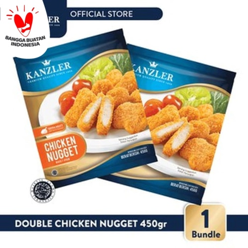 Foto Produk 1 Bundle - Kanzler Double Chicken Nugget dari Kanzler Official Store