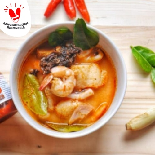 Foto Produk Bumbu Tomyam Sachet 70 Gram bumbu Suki pedas shabu shabu halal dari Jual Nori Online
