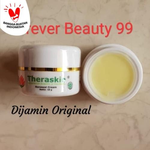 Foto Produk Theraskin Renewal Cream - krim malam whitening +Antiaging (wrn kuning) dari Forever Beauty 99