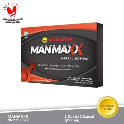 Foto Produk Obat Kuat Pria Manmaxx Isi 2 Kapsul dari Air Mancur Official Shop