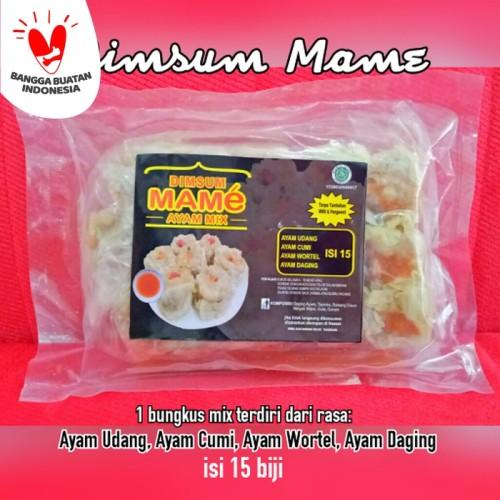 Foto Produk Dimsum Mame isi banyak 15 biji rasa mix grosir dari Gadsa Online Shop