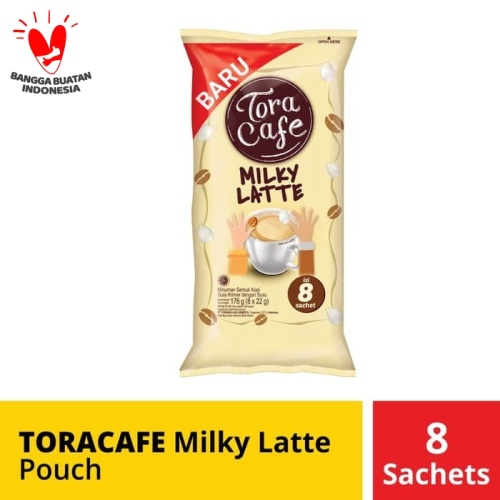 Foto Produk Toracafe Milky Latte Pouch 8 Sachet @22 Gr dari Mayora Official Store