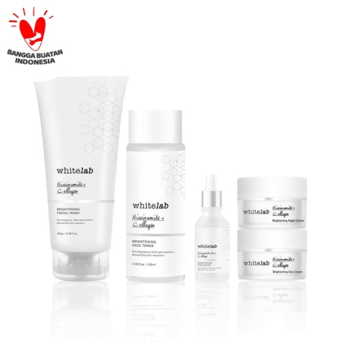 Foto Produk Whitelab Brightening Face Series + Serum dari Whitelab Official Store