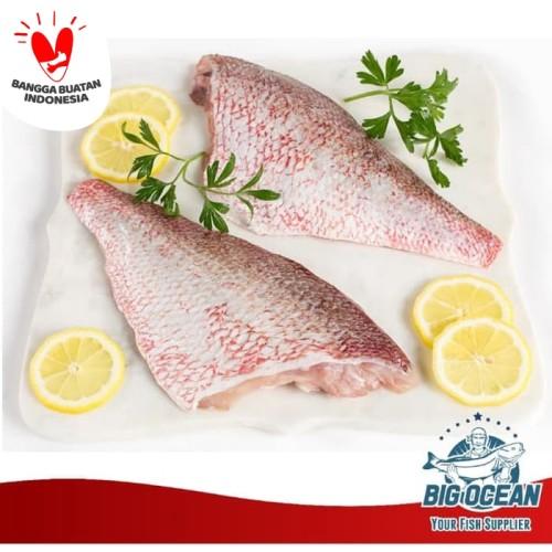 Foto Produk Fillet Ikan Kakap Merah|Red Snapper Premium @500gr dari Big Ocean