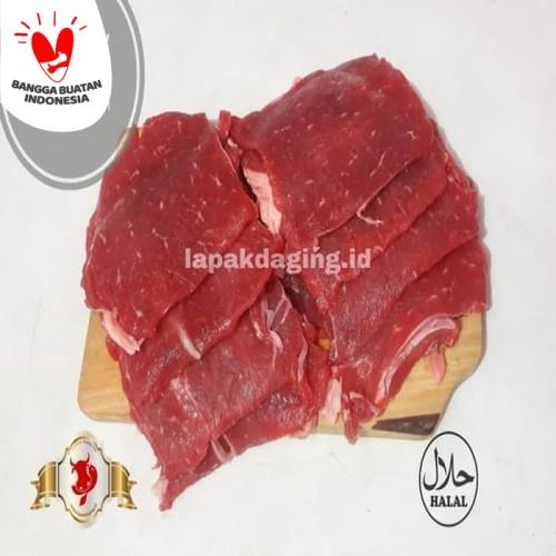Foto Produk Daging Sapi Sukiyaki / Teriyaki / Iris Tipis @ 500gram dari BERKAH JAYA MEAT