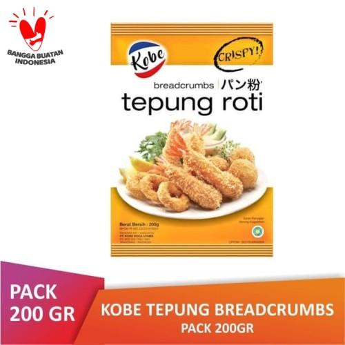 Foto Produk [PACK] KOBE Tepung Breadcrumbs Roti 200 gr dari Toko Kecil