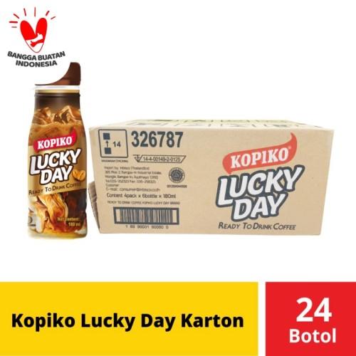 Foto Produk Kopiko Lucky Day Karton 24 Botol dari Mayora Official Store
