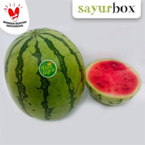 Foto Produk Buah Semangka Merah - 1 pcs (Sayurbox) dari Sayurbox
