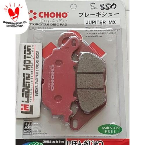 Foto Produk Kampas Rem Cakram Depan Jupiter MX Mio Xeon Soul GT Disc Pad Choho dari Ledeng Motor Bandung