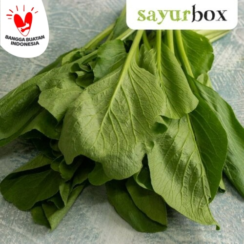 Foto Produk Sawi Hijau Conventional 250 gram Sayurbox dari Sayurbox