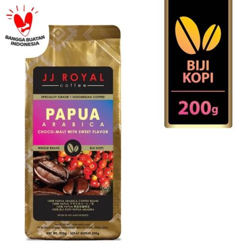 Foto Produk Coffee/Kopi JJ Royal Papua Arabica Bean Bag 200g dari JJ Royal Coffee