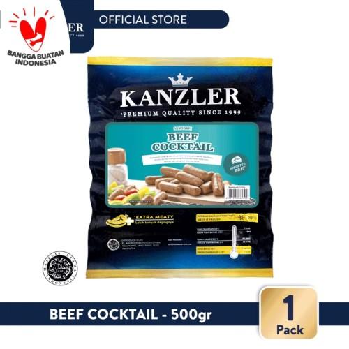 Foto Produk 1 Pack - Kanzler Sosis Beef Cocktail 500gr dari Kanzler Official Store