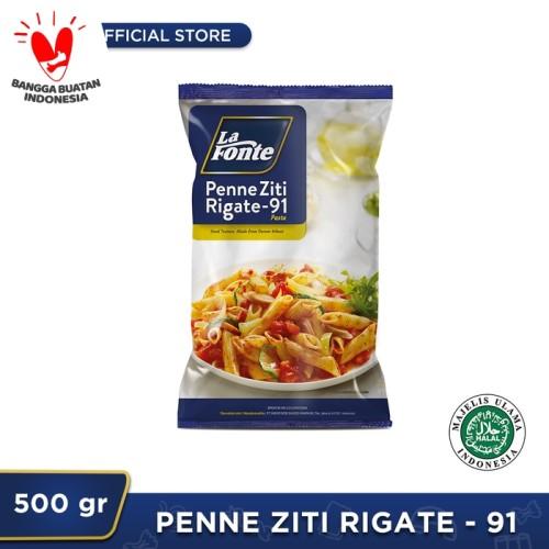 Foto Produk 1 Pc - La Fonte Penne Ziti Rigate 500gr dari La Fonte Pasta Official