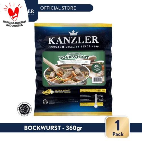 Foto Produk 1 Pack - Kanzler Sosis Bockwurst 360gr dari Kanzler Official Store