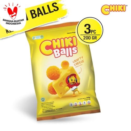 Foto Produk Chiki Ball Keju 200 Gr - 3 Pcs dari Indofood Snack Time