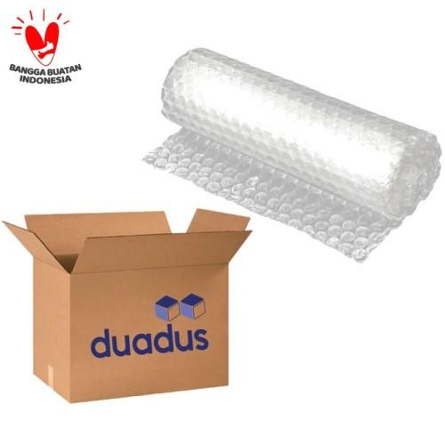 Foto Produk Packing Tambahan Dus Bonus Bubble Wrap Demi Keselamatan Paket Anda dari duadus
