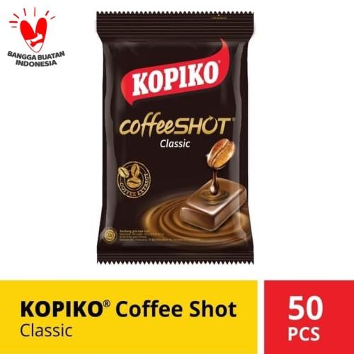 Foto Produk Kopiko Coffee Shot Classic Zak 150 Gr @ 50 Pcs dari Mayora Official Store