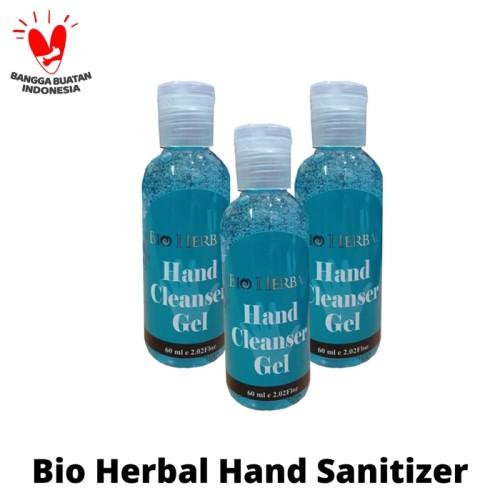 Foto Produk Bio Herbal Hand Sanitizer Antiseptik Gel Antisepik Tangan 60 ml dari duadus