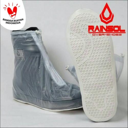 Foto Produk Cover Shoes Rainsol Transparant dari ddeztbikersshop