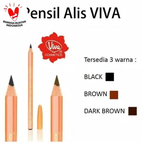 Foto Produk VIVA EYE BROW PENCIL / PENSIL ALIS ORIGINAL 100% dari BENS kosmetik