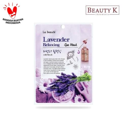 Foto Produk BeautyK La Beaute Lavender Relaxing Spa Mask dari BeautyK Indonesia