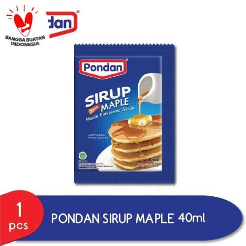 Foto Produk PONDAN SIRUP MAPLE POUCH 40ML dari Pondan Food