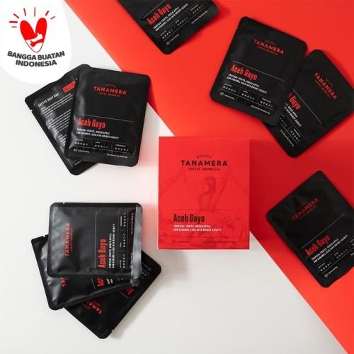 Foto Produk Tanamera Coffee Drip Bag / Filter Bag: Aceh Gayo - 10 Drip Bag dari Tanamera Coffee