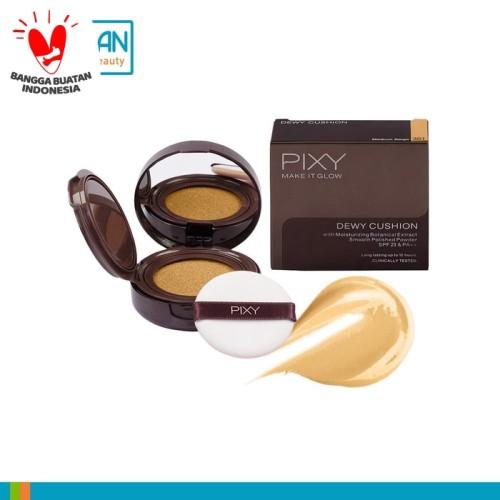 Foto Produk Pixy Make It Glow Dewy Cushion 301 Medium Beige -412912 dari Dan+Dan Official Store