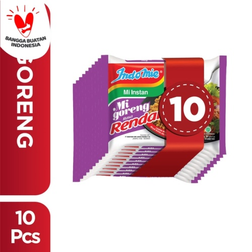 Foto Produk 10 Pcs - Indomie Goreng Rendang dari Indomie Official Store