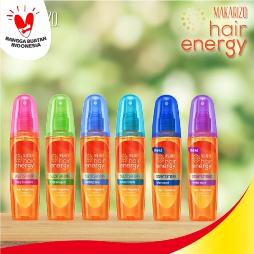 Foto Produk MAKARIZO HAIR ENERGY PARFUM RAMBUT - SCENTSATION HAIR FRAGRANCE 100 ML - Cherry blossom dari Shine Beauty Skin