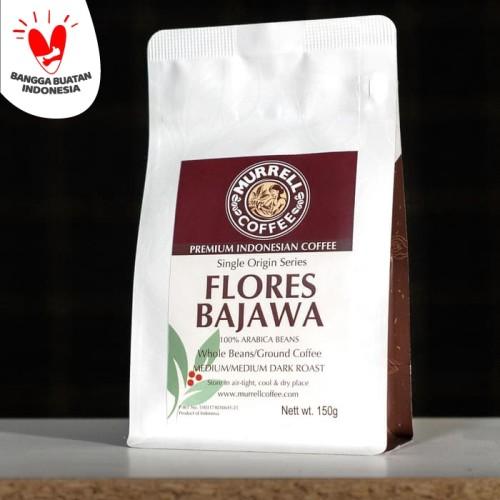 Foto Produk Flores Bajawa/ arabica/ premium/ kopi bubuk/ kopi biji - Medium Dark, BIJI dari MURRELL COFFEE ROASTERS