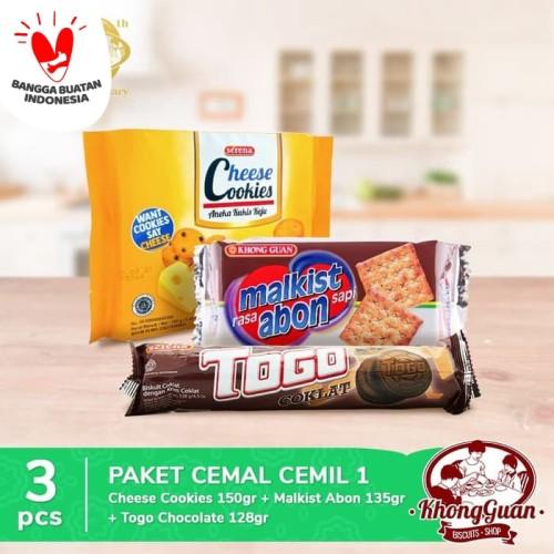 Foto Produk Paket Cemal Cemil 1 dari Khong Guan Biscuits Shop