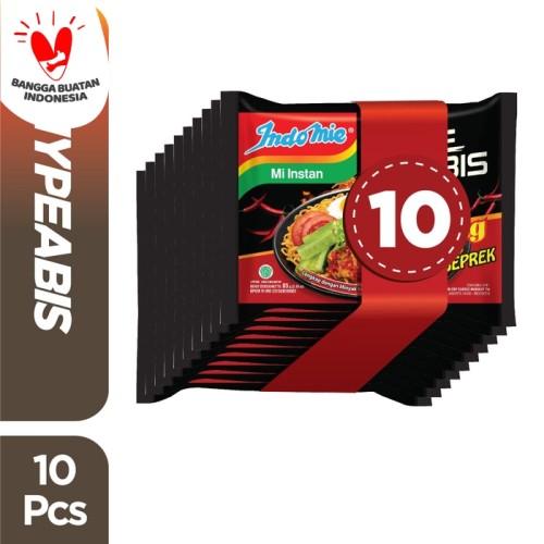 Foto Produk 10 Pcs - Indomie HypeAbis Ayam Geprek dari Indomie Official Store