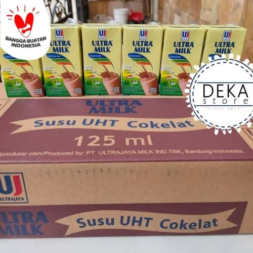 Foto Produk Susu Ultra 125 ml - Coklat dari Deka-Store