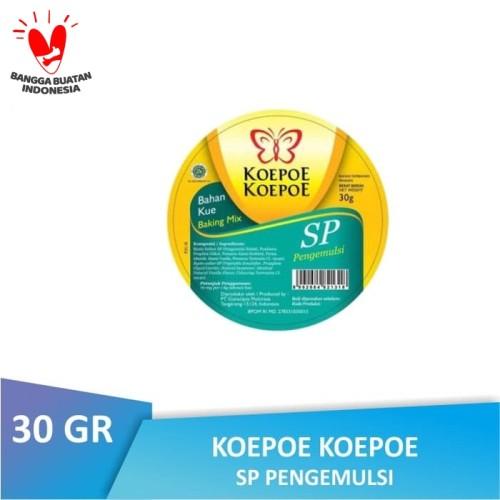 Foto Produk [BTL] Koepoe Koepoe SP Pengemulsi 30 GR   Kupu Kupu dari Warung Lebaran