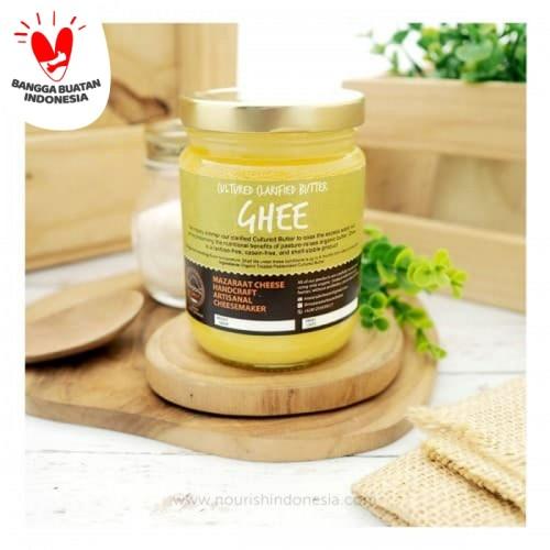 Foto Produk Mazaraat, Organic Ghee 200gr dari Nourish Indonesia