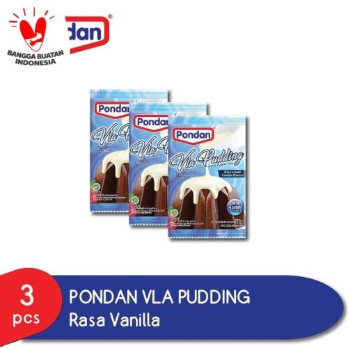Foto Produk Pondan Vla Pudding Vanila (isi 3pcs) dari Pondan Food