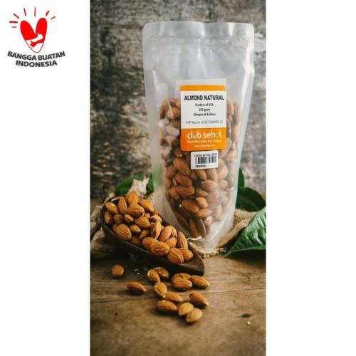 Foto Produk Almond Whole Natural, 1kg dari Club Sehat Store