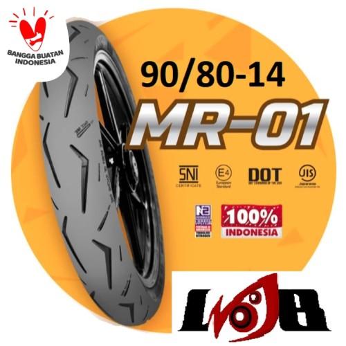 Foto Produk Ban Racing Mizzle MR01 90/80 ring 14 MR1 MR one dari Ledeng Motor Bandung