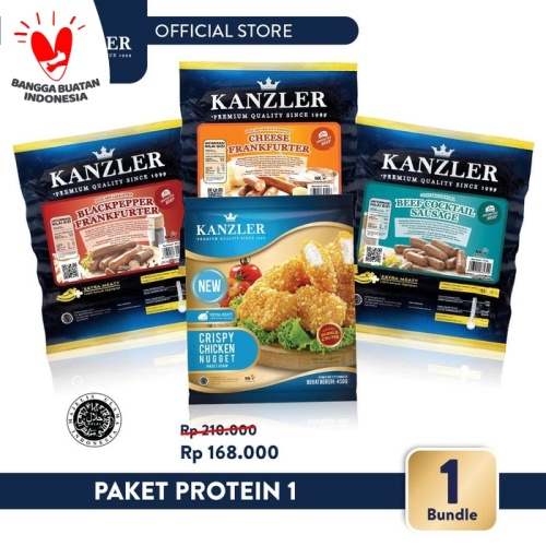 Foto Produk Kanzler Paket Protein 1 dari Kanzler Official Store