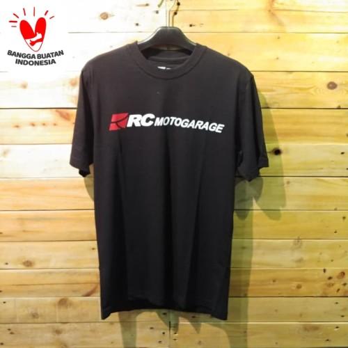 Foto Produk RC T Shirt Black New Logo dari RC Motogarage