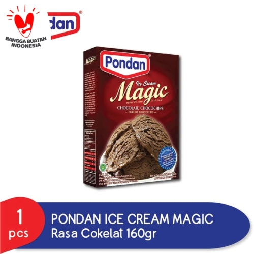 Foto Produk PONDAN Ice Cream Chocolate - Es Krim Coklat - Ais Krim Coklat dari Pondan Food