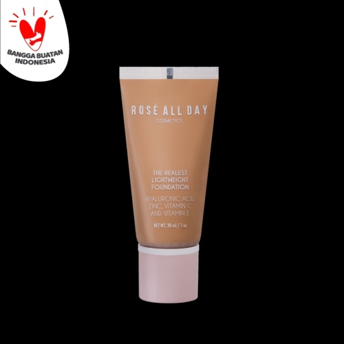 Foto Produk Rose All Day The Realest Lightweight Foundation in Honey dari Rose All Day Cosmetics